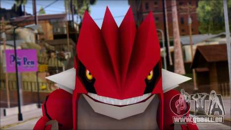 Groudon Pokemon für GTA San Andreas dritten Screenshot
