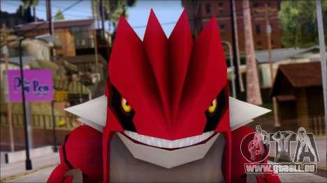 Groudon Pokemon für GTA San Andreas dritten Screenshot