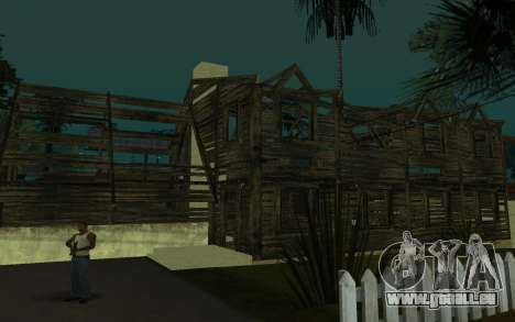 La maison de Call of Duty 4 pour GTA San Andreas