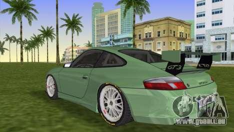 Porsche GT3 Cup 996 pour une vue GTA Vice City de la gauche
