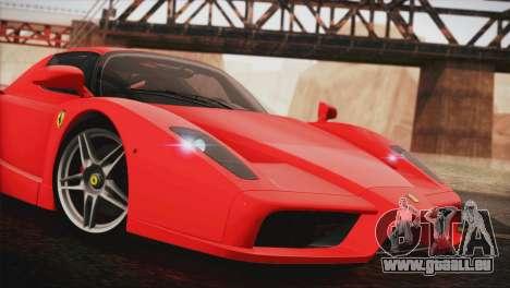 Ferrari Enzo 2002 für GTA San Andreas zurück linke Ansicht
