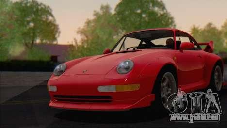 Porsche 911 GT2 (993) 1995 V1.0 EU Plate für GTA San Andreas