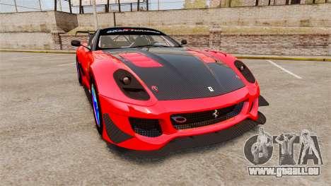 Ferrari F599 XX Evoluzione Simple CarbonFiber pour GTA 4