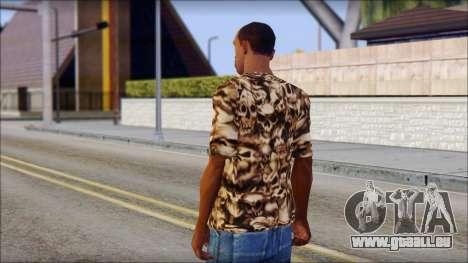Skulls Shirt für GTA San Andreas zweiten Screenshot