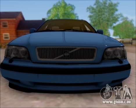 Volvo V40 pour GTA San Andreas laissé vue