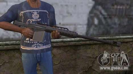 Heavy Sniper from GTA 5 pour GTA San Andreas troisième écran