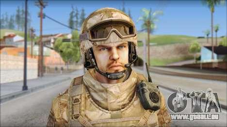 Desert SAS from Soldier Front 2 für GTA San Andreas dritten Screenshot