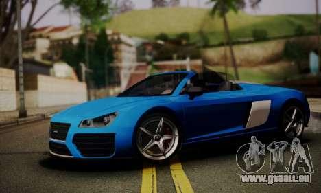 Obey 9F Cabrio für GTA San Andreas