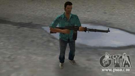 Degtyaryov Bedienungsanleitung Maschinengewehr für GTA Vice City zweiten Screenshot