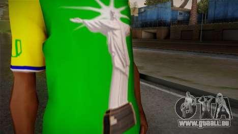 RIO T-Shirt pour GTA San Andreas troisième écran