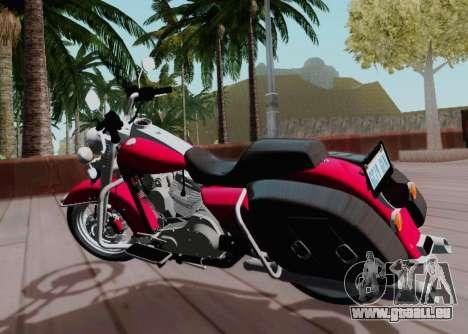 Harley-Davidson Road King Classic 2011 für GTA San Andreas zurück linke Ansicht
