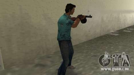 Pistolet Mitrailleur Shpagina GTA Vice City pour la troisième écran