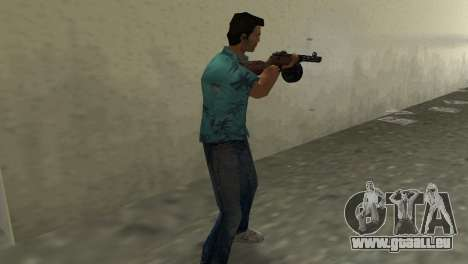 Maschinenpistole Shpagina für GTA Vice City dritte Screenshot