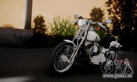 Harley-Davidson FXSTS Springer Softail pour GTA San Andreas