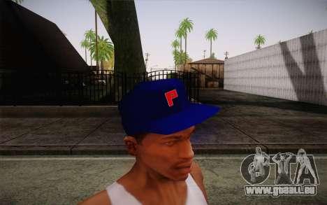 Penshoppe Cap pour GTA San Andreas