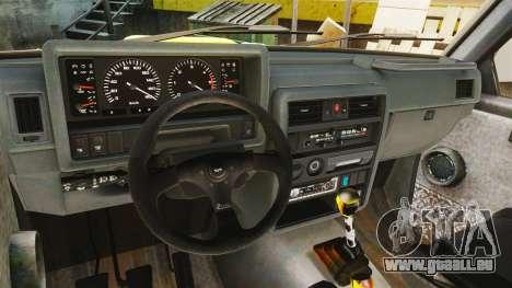 Nissan Patrol Buggy für GTA 4 Rückansicht