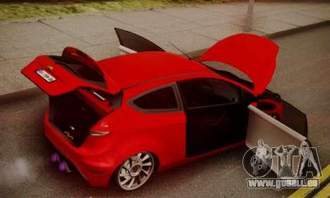 Ford Fiesta Turkey Drift Edition pour GTA San Andreas vue intérieure