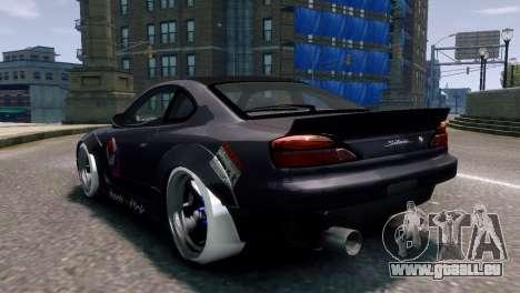 Nissan Silvia S15 Street Drift pour GTA 4 est une gauche