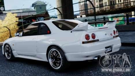 Nissan Skyline R33 1995 pour GTA 4 est une gauche