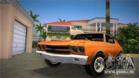Chevrolet Chevelle SS pour GTA Vice City