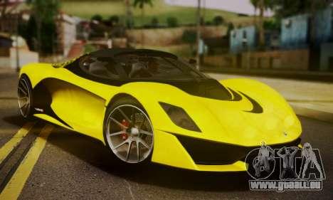 Grotti Turismo R V.1 für GTA San Andreas