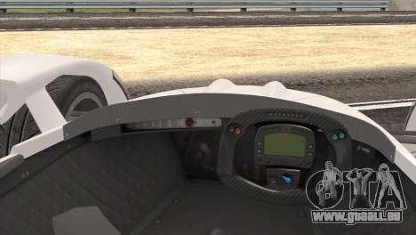 Caparo T1 2012 für GTA San Andreas rechten Ansicht