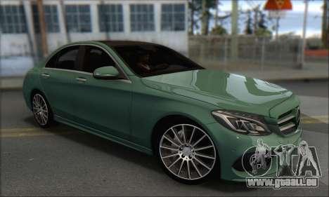 Mercedes-Benz C250 V1.0 2014 für GTA San Andreas rechten Ansicht