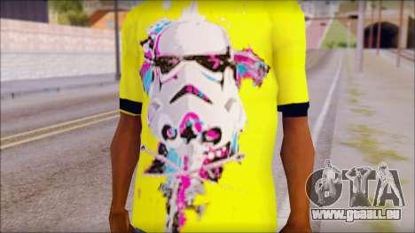Star Wars Clone T-Shirt für GTA San Andreas dritten Screenshot