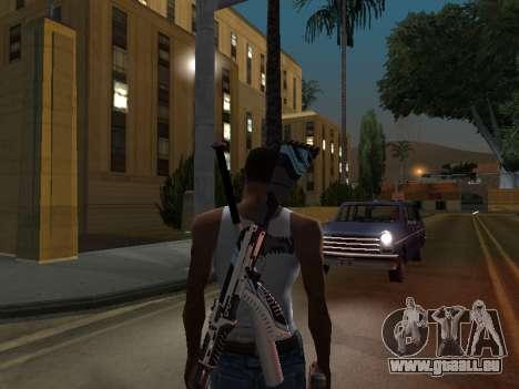 AK47 from CS:GO pour GTA San Andreas deuxième écran