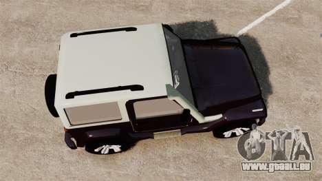 Troller T4 für GTA 4 rechte Ansicht