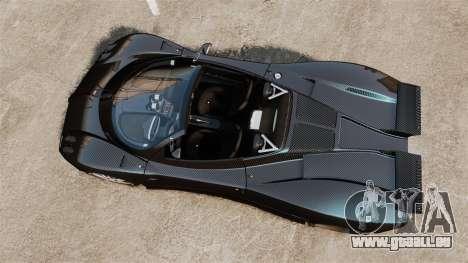 Pagani Zonda C12S Roadster 2001 v1.1 PJ3 für GTA 4 rechte Ansicht