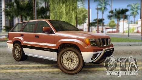 Seminole from GTA 5 pour GTA San Andreas
