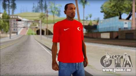 Turkish Football Uniform v4 pour GTA San Andreas