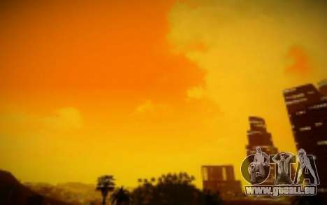FIXED SkyBox Arrange - Real Clouds and Stars für GTA San Andreas dritten Screenshot