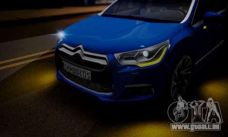 Citroen DS4 2012 für GTA San Andreas Innenansicht