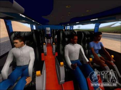 Metalsur Starbus DP 1 6x2 - La Veloz del Norte pour GTA San Andreas vue de dessus