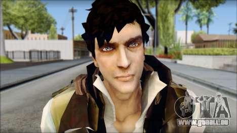 Alex from Prototype Alpha Texture pour GTA San Andreas troisième écran