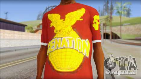Cenation EHacker Shirt für GTA San Andreas dritten Screenshot
