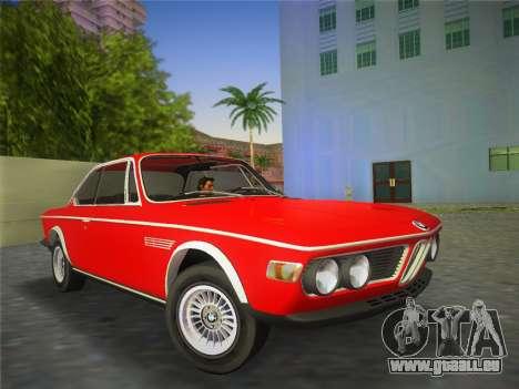 BMW 3.0 CSL 1971 pour GTA Vice City