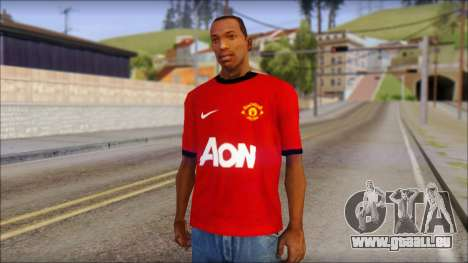 Manchester United 2013 T-Shirt pour GTA San Andreas