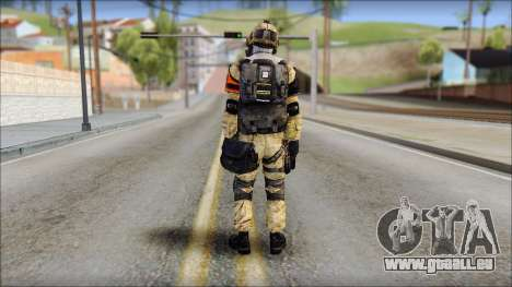 Opfor PVP from Soldier Front 2 für GTA San Andreas zweiten Screenshot