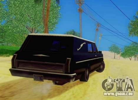 Perennial Сatafalque für GTA San Andreas zurück linke Ansicht