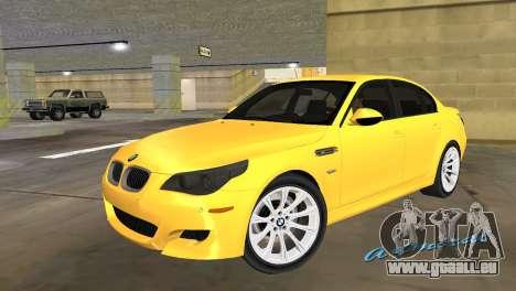 BMW M5 E60 pour GTA Vice City