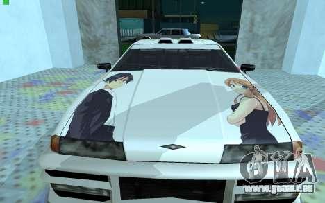 Farbe Arbeit OreImo für Elegie für GTA San Andreas linke Ansicht