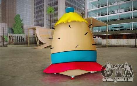 Mrs. Puff from Sponge Bob für GTA San Andreas zweiten Screenshot