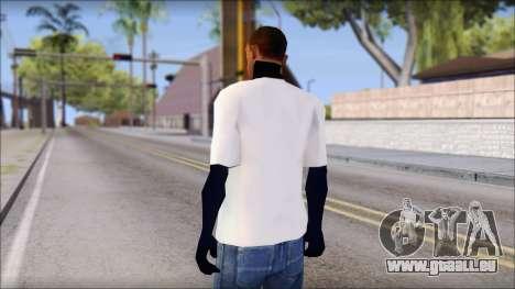 Fabri Fibra T-Shirt pour GTA San Andreas deuxième écran