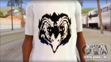 Free Bird T-Shirt für GTA San Andreas dritten Screenshot