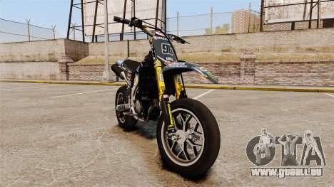 Yamaha YZF-450 v1.8 pour GTA 4