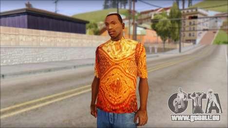 Batik Solo T-Shirt für GTA San Andreas
