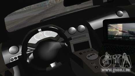Lamborghini Murcielago LP670 SV Police für GTA San Andreas Rückansicht
